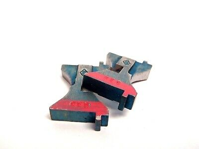 Set Of 2 Semtorq Fc Series Red Cutter Blades For Tip Dresser Cutter Welder