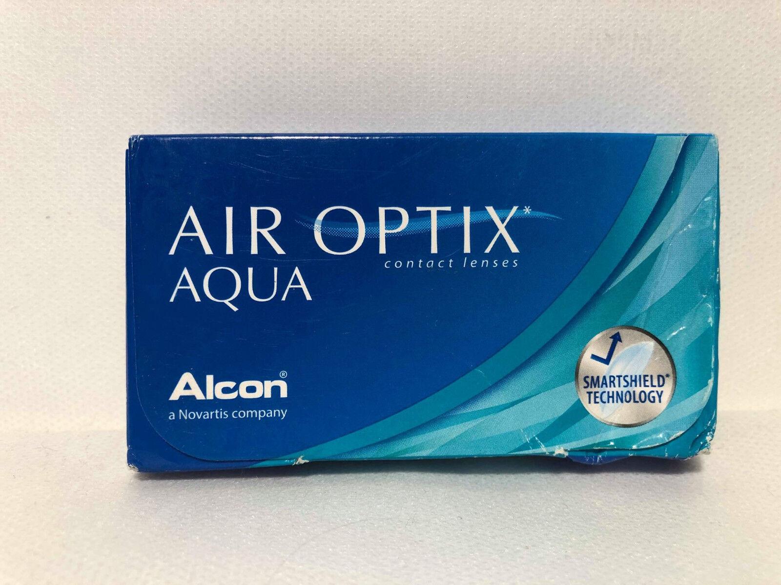 Air Optix Aqua Monatslinsen weich, 6 Stück Kontaktlinsen N11
