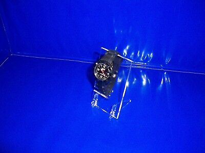 Clear Acrylic Single Watch Bracelet Display Stand Retail Display