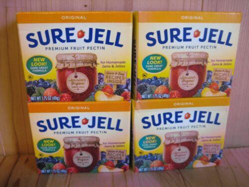 Sure Jell ORIGINAL Premium Fruit Pectin 1.75 oz Per Box Lot of 6  Exp DEC 2022