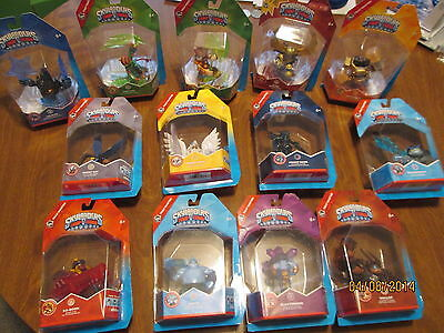 LOT 13 Skylanders Trap Team MASTER KNIGHT LIGHT & MARE DARK, WALLOP, KABOOM NEW (Wallop Skylander)