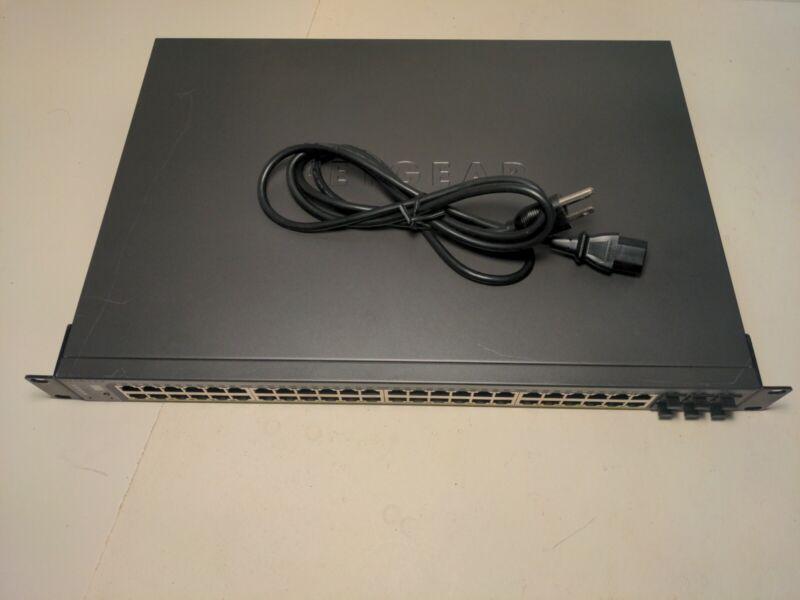 Netgear Prosafe GS752TPS Gigabit stackable 48 port and 4 SFP uplinks FAST SHIP
