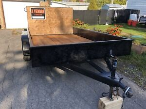 Trailer 7 x 12 double roues
