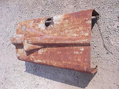 Farmall Super M Tractor Original Ihc Ih Hood For Over Engine W Clips