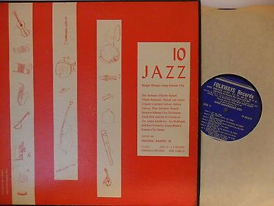 Various - Jazz 10 - LP 1953 US - Folkway FJ 2810