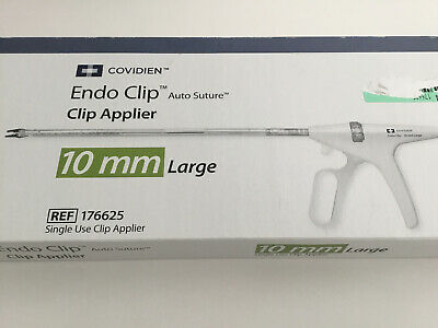 Covidien Endo Clip 10mm Large Ref 176625 Exp 2021-09-30 Or Later