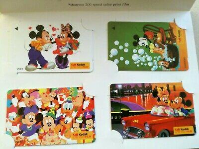 10 Sätze TK Singapore Telefonkarte/Phonecard 4x 2$ Kodak Disney im Folder neu