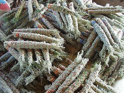 "20 Taos NM mountain sage herb smudge stick bundles assorted  4""- 5""  inches long"