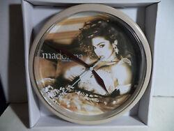 Madonna, Like A Virgin Album Cover Quartz Wall Clock 8.5 Across New In Box