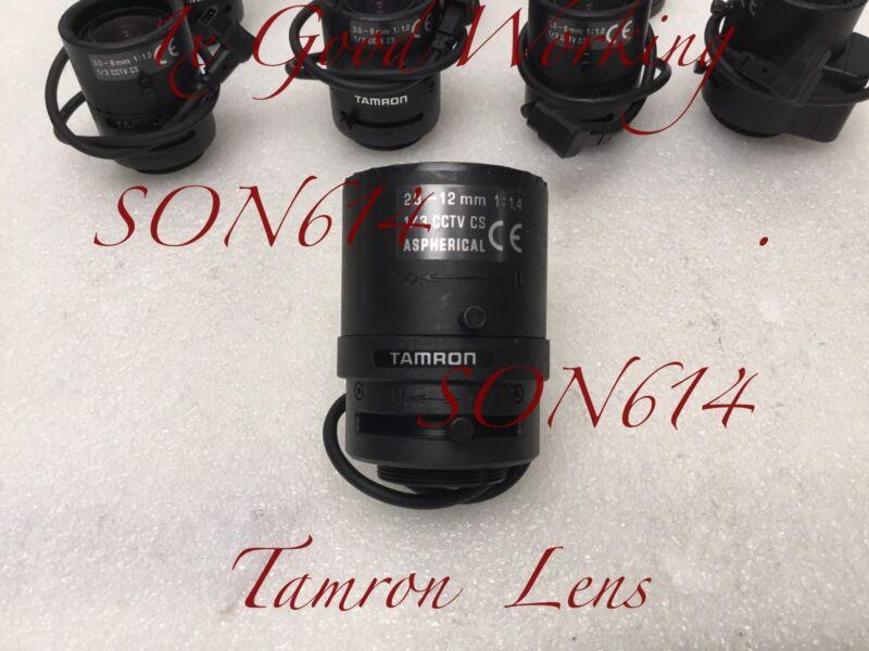 """1x TAMRON Lens 2.8-12mm Varifocal, 1/3"""" CS Mount 1:1.4 For CCTV Security Camera"""