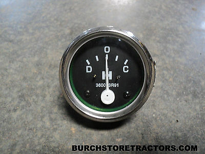 New Farmall Amp Meter Gauge Cub Super A 100 130 140 200 230 300 Tractors