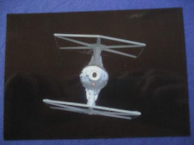 arte NEU - T-Fighter Darth Vader Todesstern Schiff (Star Wars Postkarten)