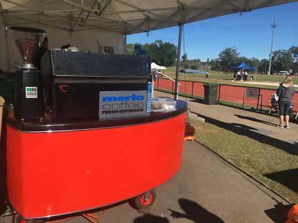 Mobile coffee cart & trailer Bundall Gold Coast City Preview