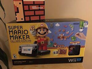 Super Mario Maker Wii u ••No System••