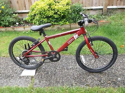 "Boys Raleigh Zero Mountain Bike - 20"" Wheels - 6 Gears - Aluminium Frame"