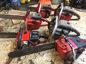 7 Chainsaws for sale