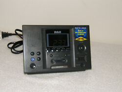 RCA RP3721A AM/FM Dual Alarm Clock Radio Station Presets for Home or Office use