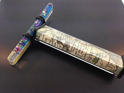 Rectangle Kaleidoscope with 2 Oil Filled Wands