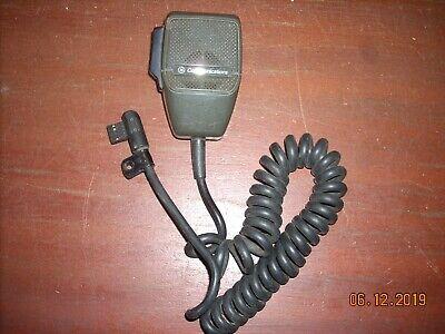 Ge Ericsson Mvs Vhf Uhf Mobile Radio Microphone