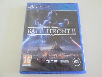 Star Wars Battlefront 2 Sony Playstation 4 PS4 PS 4 Electronic Arts SEALED UK