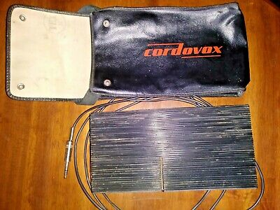 Cordovox volume expression pedal for Cordovox amp accordion used as is with case