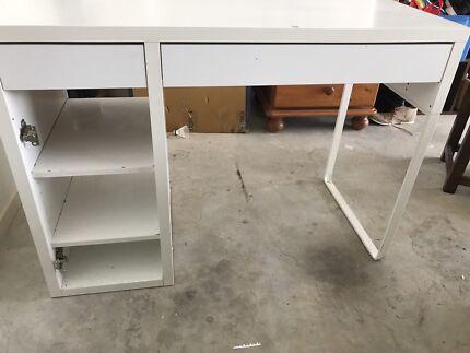 Ikea bureau study desk desks gumtree australia brisbane north