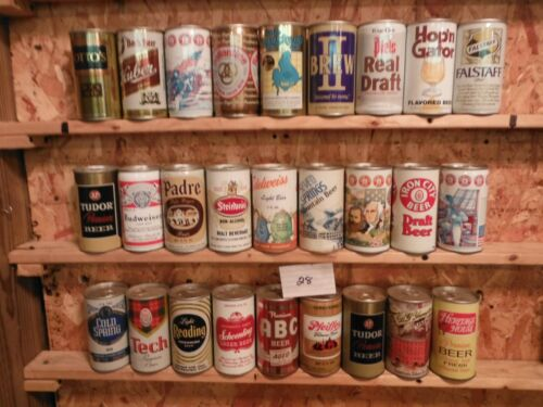 84 BOTTOM OPENED BEER CAN COLLECTION~#28