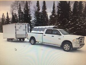 Truck trailer and 2 Arctic Cat sno pro 600 for sale