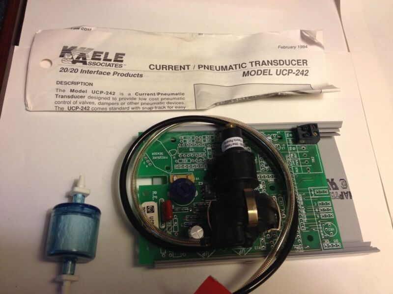 NEW Kele Assoc K&A RE Technology Current Pneumatic Transducer UCP-242 Industrial