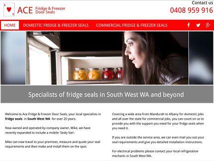 Fridge & freezer door seals commercial & domestic