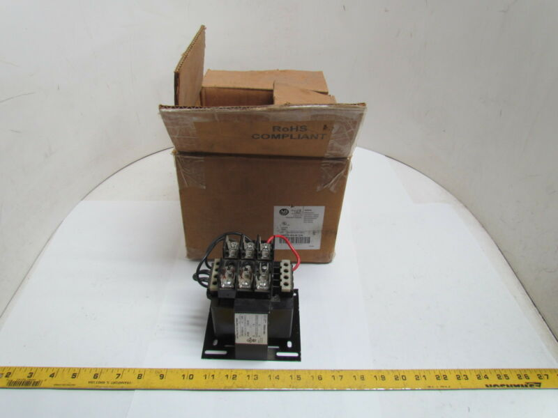 A-B Allen Bradley 1497-D-BAJK-3-N 0.2KVA Step Down Control Transformer 240/280V