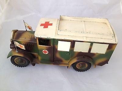 Hausser Elastolin Krankenwagen Lkw  von ca. 1935