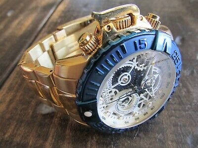 Invicta 18237 Reserve 47mm Subaqua Noma II Swiss Made Watch Looks New Size SMALL