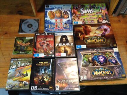 Pc game bundle only $30 the lot