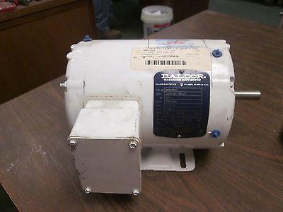 Baldor Motor Wdm3542 0.75hp 1725rpm 56 Frame 230460v 2.21.1a Used