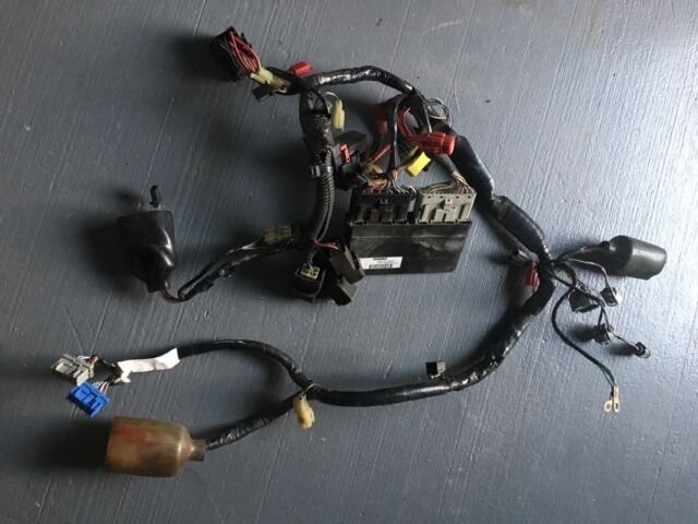 $_58 cbr 954 cdi box and rear wiring harness motorcycle & scooter