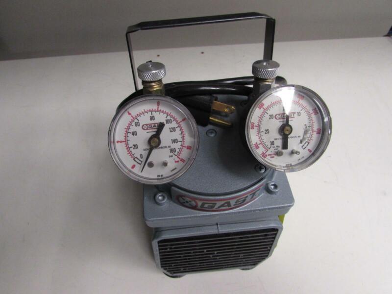 Gast Lab Diaphragm Vacuum Pump DOA-P104-AA, 115V