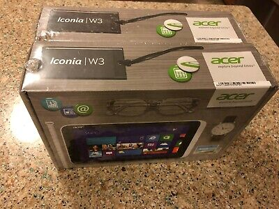 New Acer Iconia W3-810-1416 Win 8 | Intel Atom Z2760| 2GB Mem| 64GB eMMC