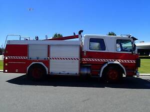 Scania Dual-cab Fire Truck Automatic Welshpool Canning Area Preview