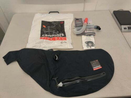 Canmore Pipe Bags - Synthetic - 4 Collar / Zip - Large