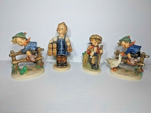 HUMMEL FIGURINES - LOT OF 4 - GREAT CONDITION !!!