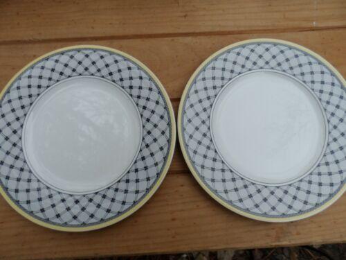 "2 Villeroy & Boch Audun Promenade Salad Plates  8 1/2""   EUC"