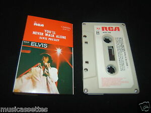 ELVIS-PRESLEY-YOULL-NEVER-WALK-ALONE-AUSTRALIAN-CASSETTE-TAPE