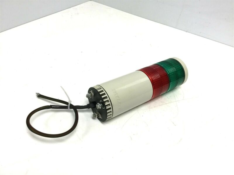 Patlite LME-202-RG Green Red Stack Light Tower Voltage: 24VAC/DC, Amperage: 0.3A