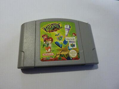 TONIC TROUBLE N64 Nintendo 64 Game PAL ( Cartridge only )