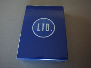 LTD-BLUE-DECK-OF-PLAYING-CARDS-BY-ELLUSIONIST-MAGIC-TRICKS-GAFF-BICYCLE-POKER