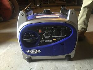 Generator Yamaha EF 2400iS / Camping or Motorhome Mackay Mackay City Preview