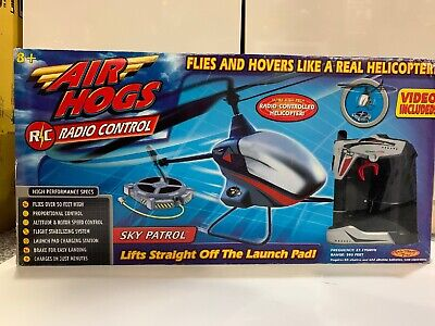 AIR HOGS Sky Patrol R/C Helicopter Spin Master 27.145 MHz 2002