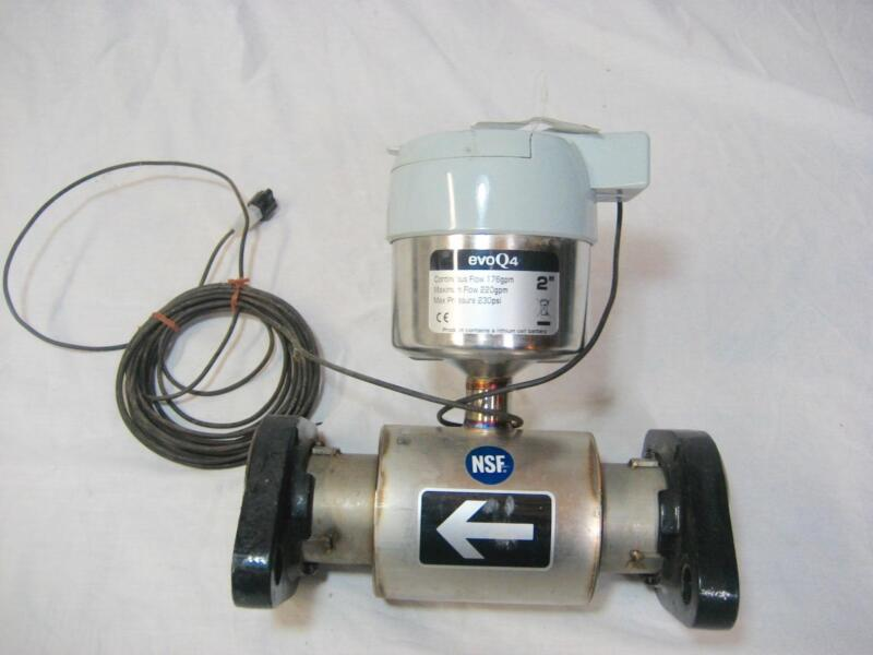"""Used Elster EvoQ4  2"""" x 10"""" Flow Meter Flanged SS Water Meter"""