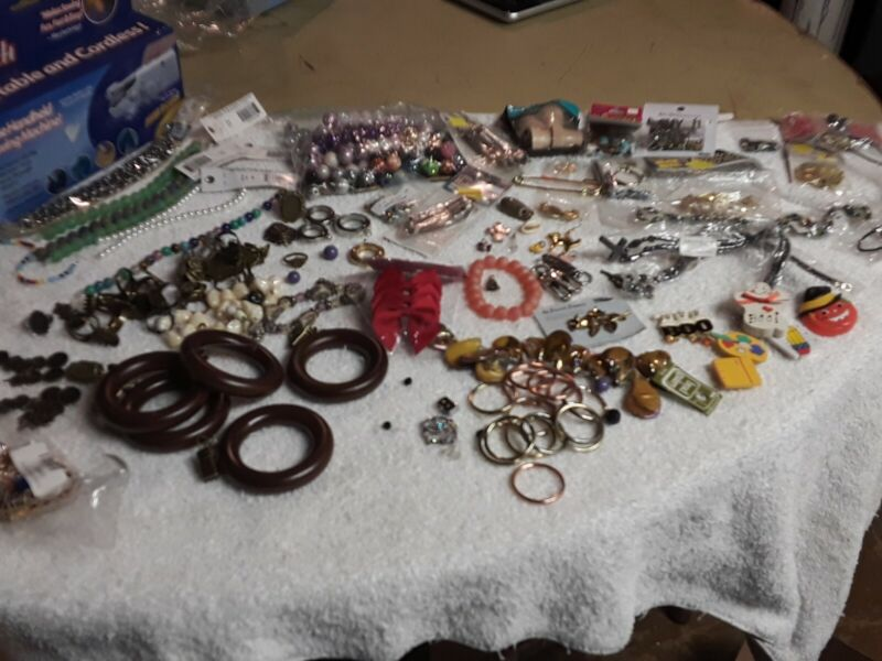 Junk Drawer Craft Items Misc Lot. See Pictures. #B1
